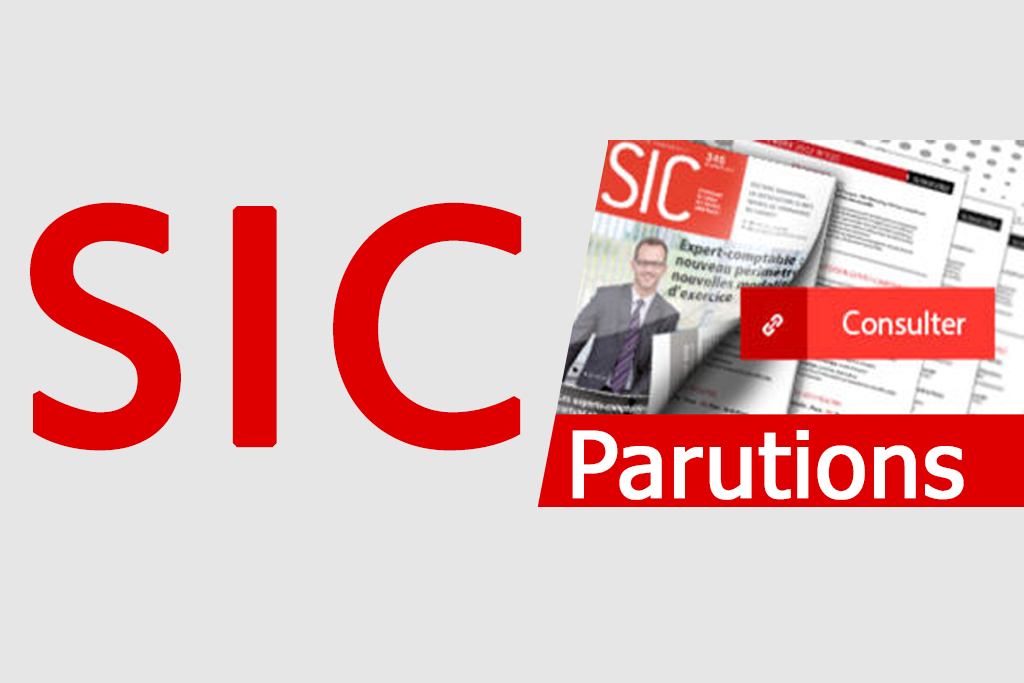 Parution SIC Septembre 2016